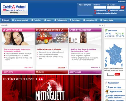 Le credit mutuel en ligne online application - Plafond compte courant credit mutuel ...