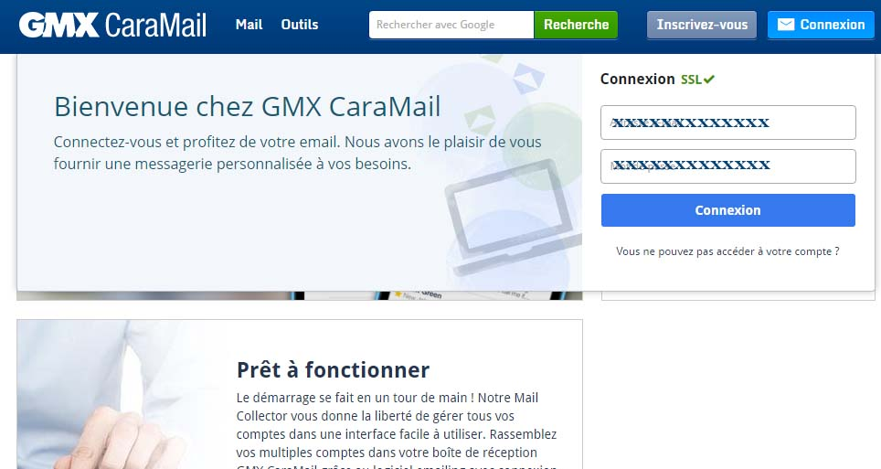 gmx adresse
