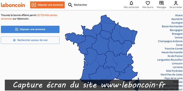 adresse du site le bon coin : www.leboncoin.fr