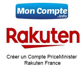 Créer un Compte PriceMinister facilement (Rakuten France)