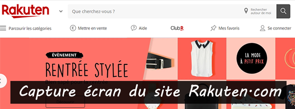 fr.shopping.rakuten.com : site officiel de Priceminister Rakuten