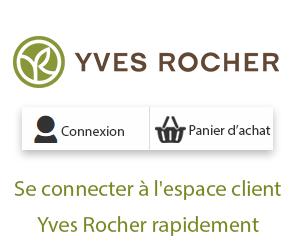 connexion espace client yves rocher