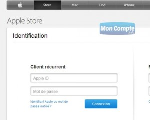 apple store compte