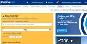accueil booking.com