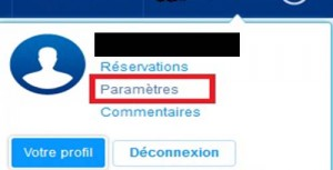 annuler compte booking