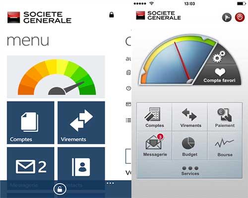 application société générale mobile