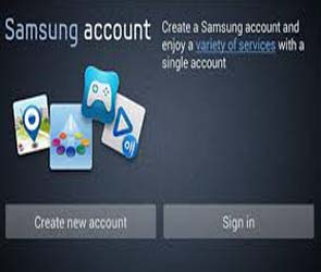 connexion compte samsung