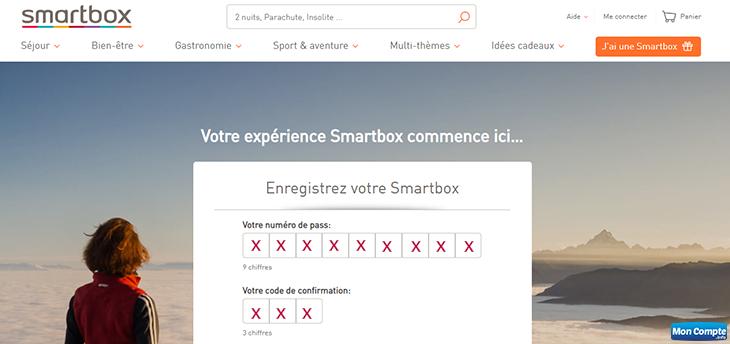 connecter espace client smartbox