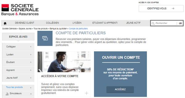 consulter compte particuliers.societegenerale.fr