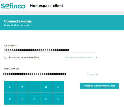 sofinco espace client