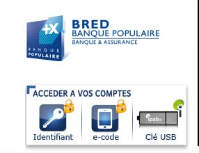 compte banque bred