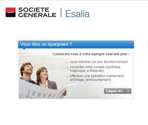 compte Esalia.com