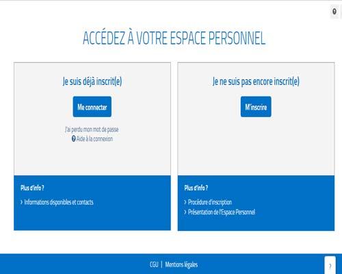 espace personnel CNRACL en ligne