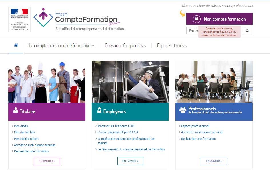 moncompteformation gov fr