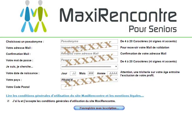 Maxi rencontre senior. La datation.