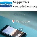 effacer compte Periscope app