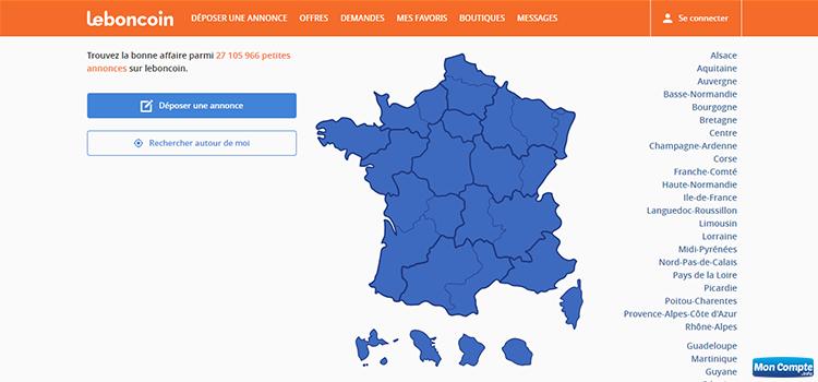se connecter en ligne sur le site leboncoin.fr