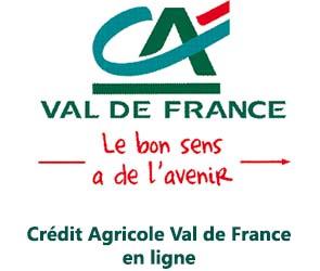 CA Val de France banque en ligne