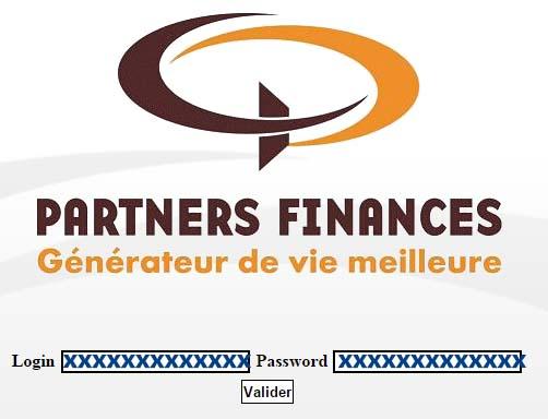 Partners Finance Mon compte