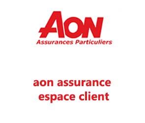 espace client aon assurance