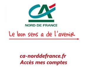 ca-norddefrance.fr accès mes comptes