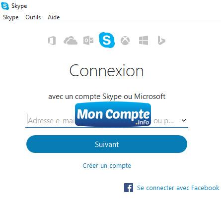 Connexion Skype Via Facebook