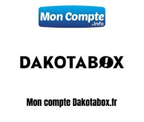 dakotabox.fr enregistrer compte