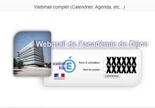 Webmail Dijon sur webmail.ac-dijon.fr