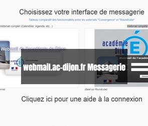 webmail.ac-dijon.fr Messagerie
