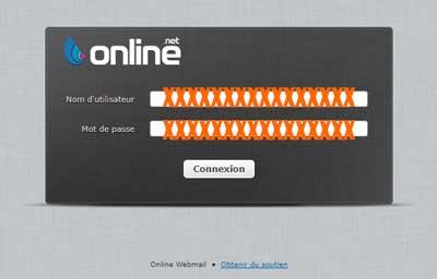 webmailOnline.net connexion