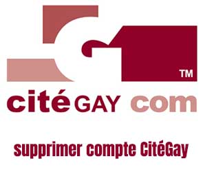 supprimer compte CitéGay