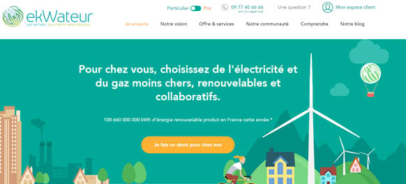 www.ekwateur.fr Mon compte en ligne