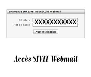Accès SIVIT Webmail