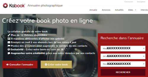 annuaire photographique kabook.fr