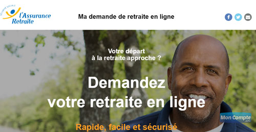 demander retraite en ligne sur mademandederetraitenligne.fr