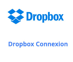Comment se connecter à Dropbox?