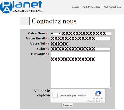 contacter Planet-Assurance