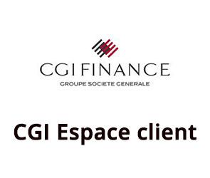 CGI Finance accès espace clients