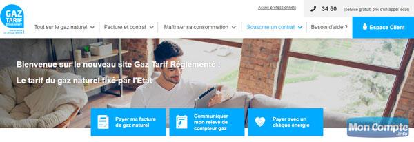 site gaz-tarif-reglemente.fr