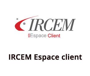 ircem.com Espace client inscription et connexion