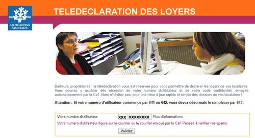 www.qlweb-caf.fr Mon compte en ligne