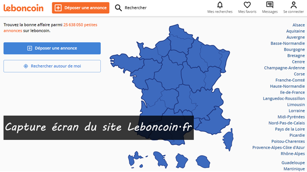 www.leboncoin.fr : site officiel