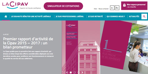 lacipav.fr portail web