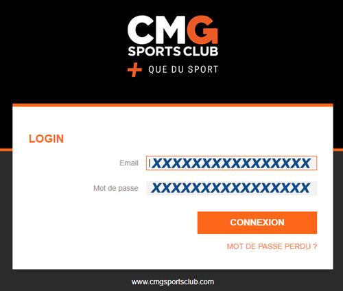 cmgsportsclub.com Espace Client en ligne