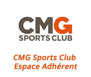 espace adhérentCMG Sports Club