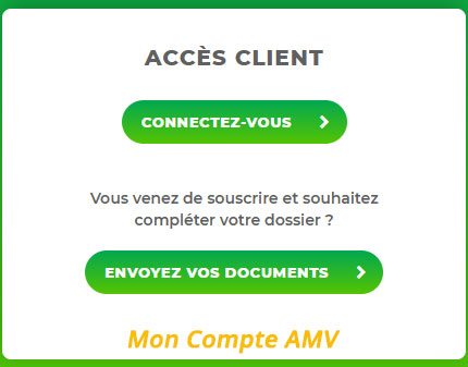 connexion compte Amv.fr