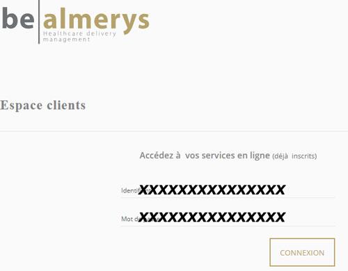 Connexion Almerys Espace client pro