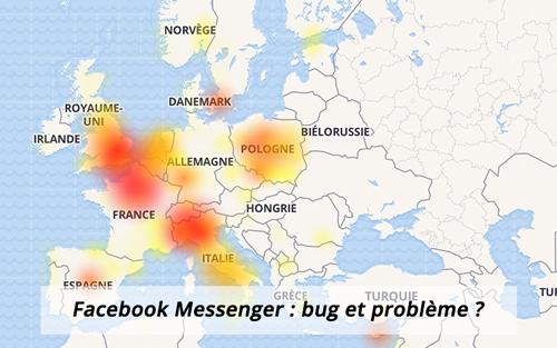 Facebook Messenger : bug et problème de connexion?