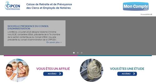 www.crpcen.fr portail retraite