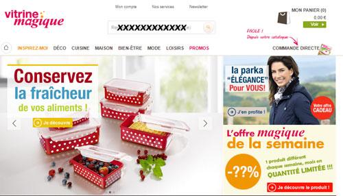 www.vitrinemagique.com vente objet déco, cuisine